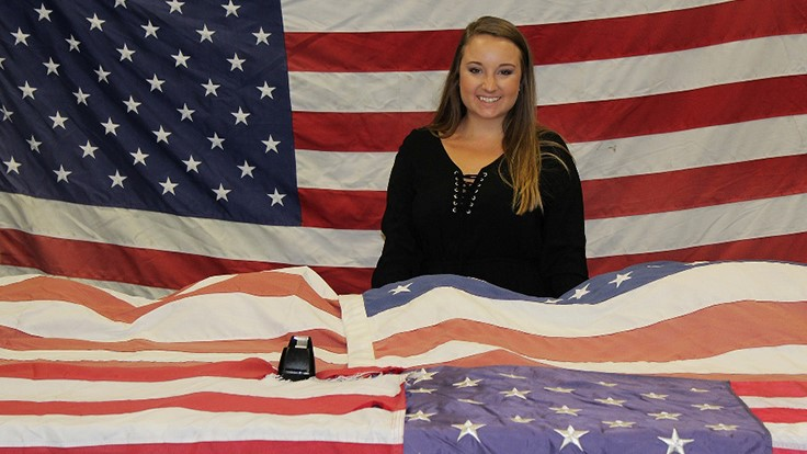 Advanced Disposal retires 4,500 American flags