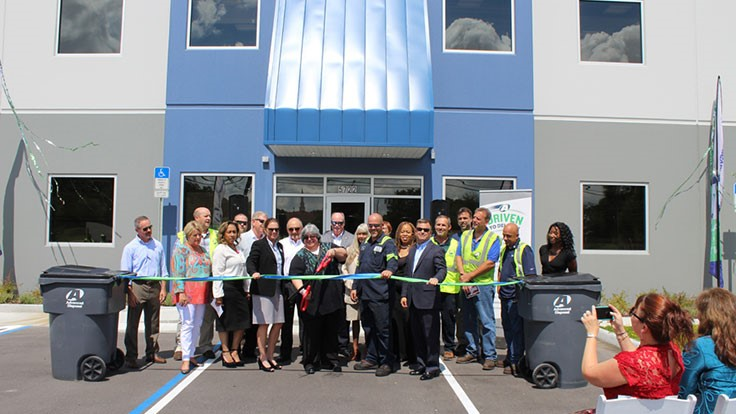 Advanced Disposal opens Orlando location - Waste Today
