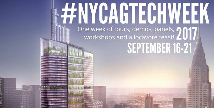 NYC AgTechWeek 2017 announces two new events