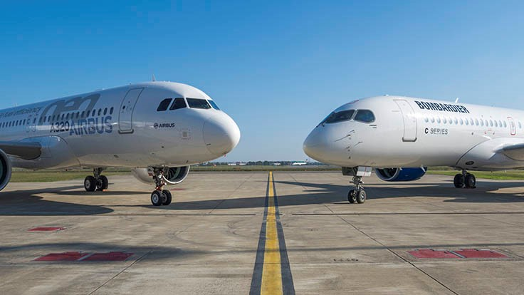 Airbus, Bombardier seek to partner on C Series