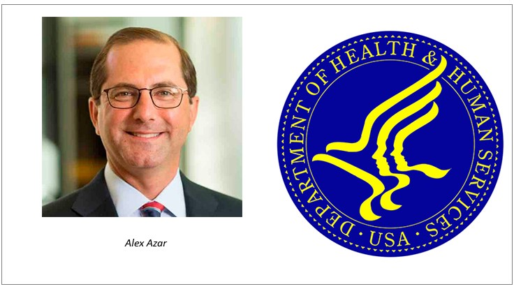 Trump Announces Alex Azar as Nominee to Head HHS