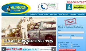 Al Hoffer's Termite Lawn and Pest Relaunches Website