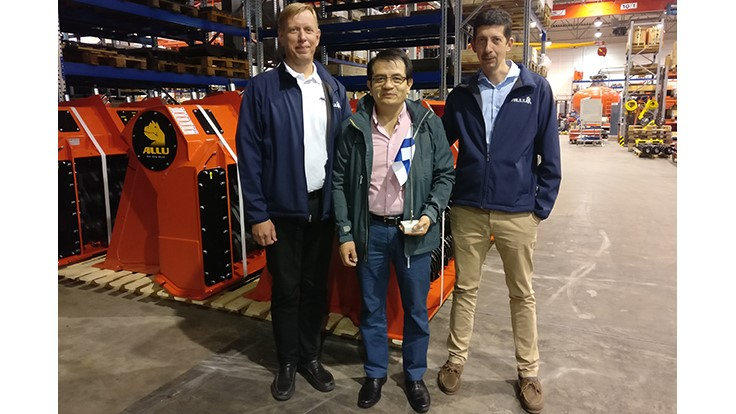 Allu welcomes new dealer in Colombia