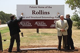 Slideshow: Texas A&M Breaks Ground on New Entomology Building