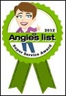 Reynolds Wins Angie's List Service Award