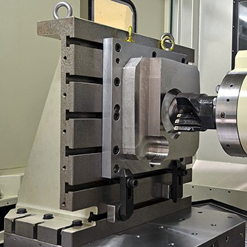 Precisely tuned machining system