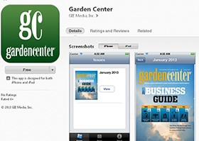 New app available from Garden Center