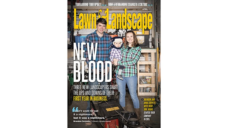 The April issue is live