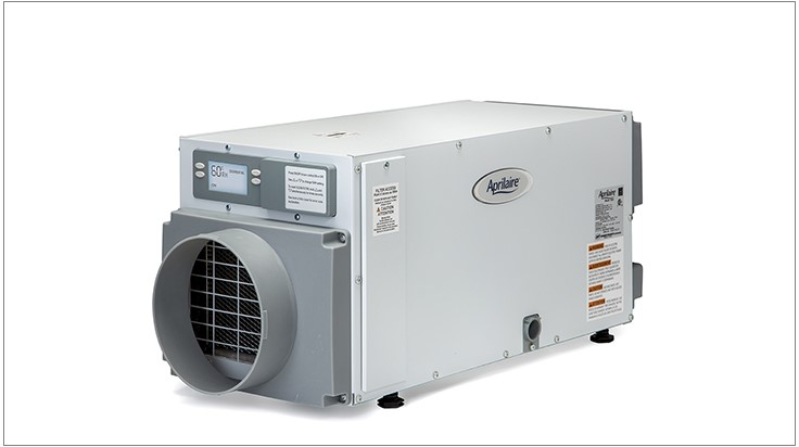 Aprilaire's New Capacity Dehumidifier is for Small Spaces