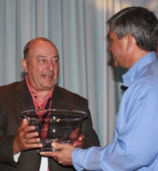 Armbruster Presented with RISE's 2011 E. Allen James Leadership Award