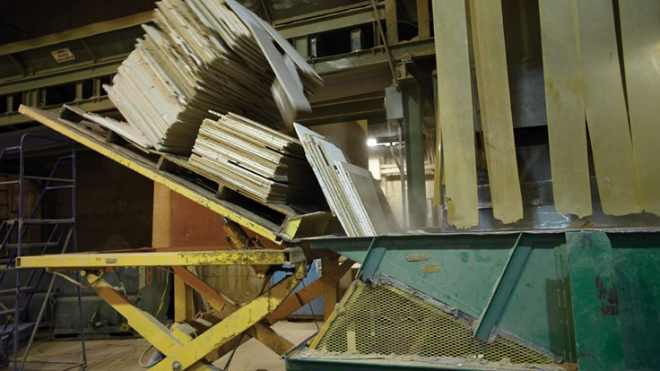 Waste Management, Armstrong Expand Ceiling Tile Recycling Program