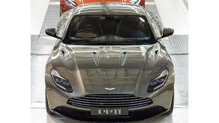 Aston Martin Begins Db11 Production In The Uk Today S Motor Vehicles