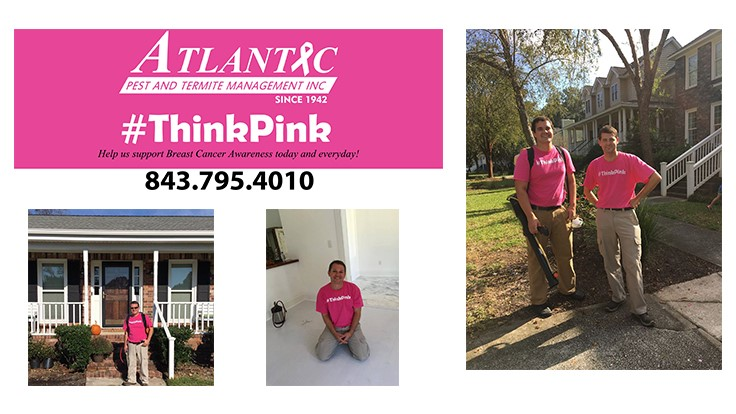 Atlantic Pest and Termite Management Launches #ThinkPink Campaign