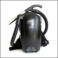Atrix Offers 'Bug Sucker' Back Pack Vacuum