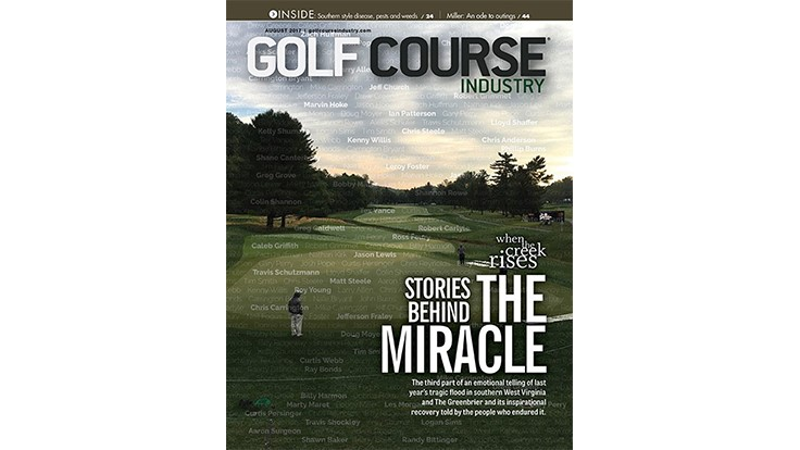 Teeing off: How a miracle happened