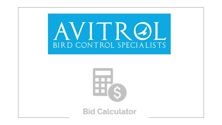 Avitrol Offers Bid Calculator for Bird Control
