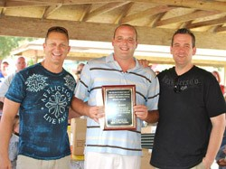 Heron Lawn and Pest Control Presents Employee Awards