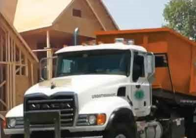 Austin company hauling construction debris from University of Texas project