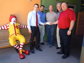 AzPPO donates $1,200 to Ronald McDonald House