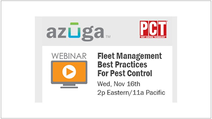 Upcoming Webinar: Fleet Management Best Practices for Pest Control