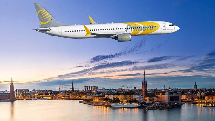 Primera Air orders up to 20 Boeing 737 MAX 9s