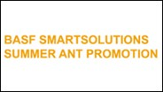 BASF Announces SmartSolution for Ants June Promotion