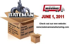 Bateman Relocating Manufacturing Operations