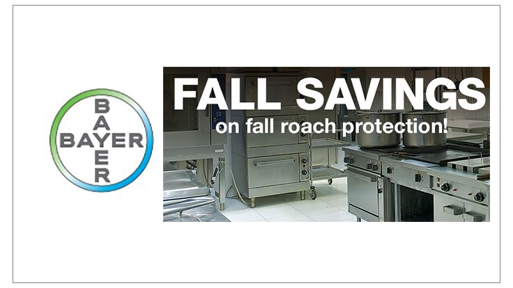 Bayer's 2016 Fall Pest Management Professional Savings Program
