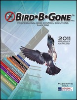 Bird-B-Gone Publishes New Catalog for 2011