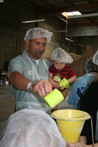 Bird-B-Gone Employees Volunteer at Children of the Nations Food Packaging Event