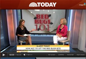 NPMA's Missy Henriksen Appears on NBC Today Show Bed Bug Segment