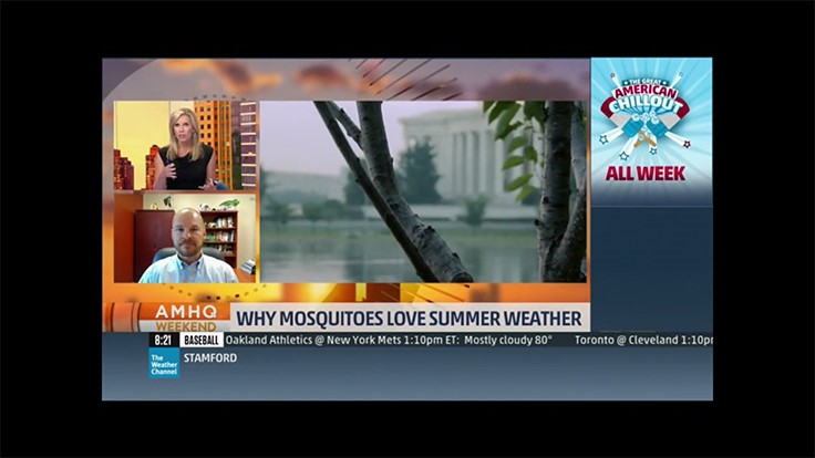 NPMA's Mike Bentley Featured on Weather Channel