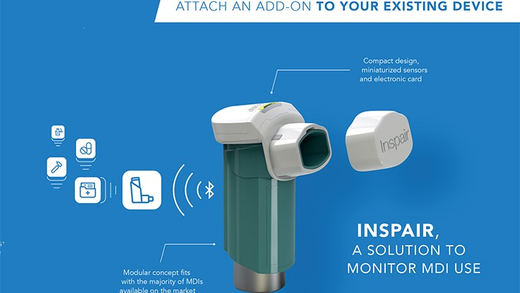 Biocorp's Inspair converts inhalers into connected medical devices