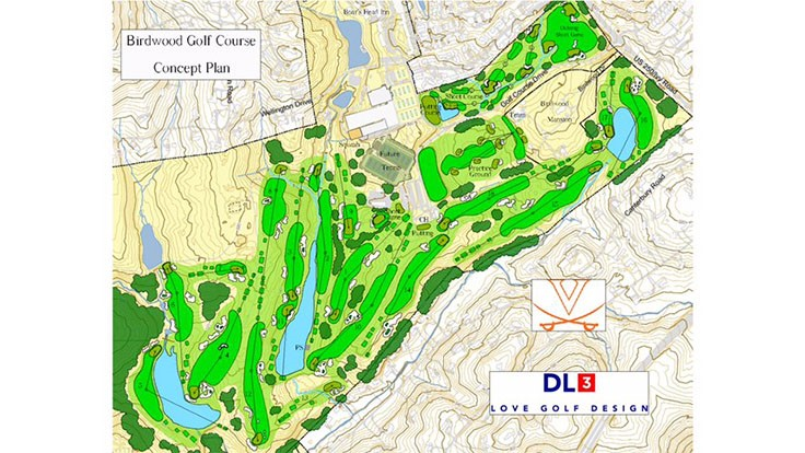 Love Golf Design to build new course at University of Virginia