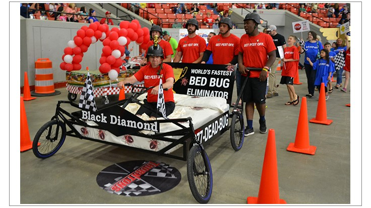 Black Diamond Participates in 2016 Kentucky Derby Festival Bed Races
