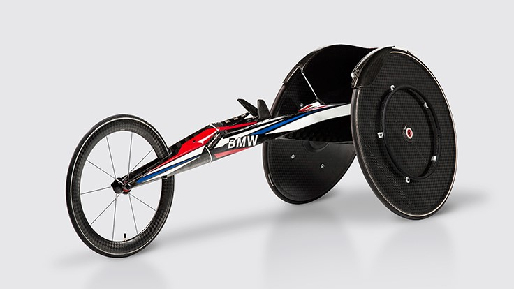 BMW's Team USA racing wheelchair for Rio 2016 Paralympic Games