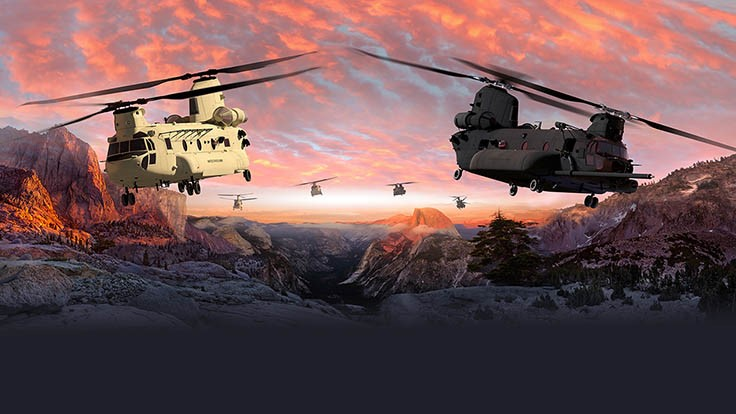 Boeing to modernize Chinook