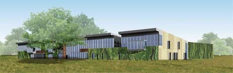 New Botanical Research Institute of Texas building will include living roof