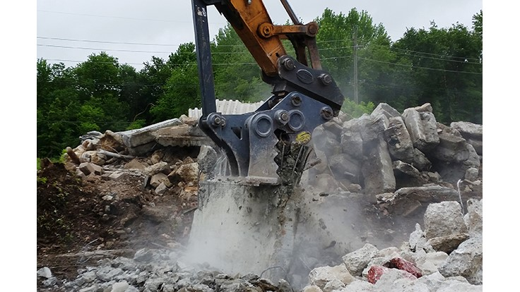 Strickland attachments get to work in Pennsylvania
