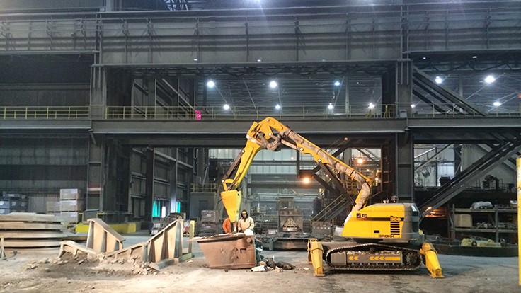 Brokk machine celebrates one year on the job