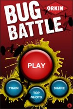 Orkin Launches Bug Battle iPhone Application