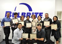 BULBRITE Teams Receive ALA-Certification
