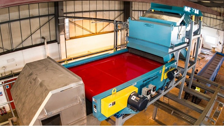 Bunting outfits UK plastics recycler with several devices