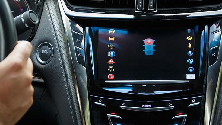 Cadillac demonstrates vehicle-to-infrastructure systems