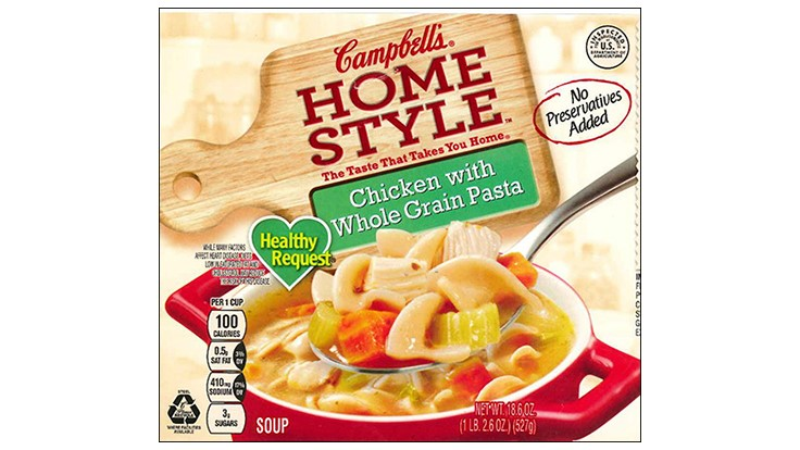 Campbell's Chicken Soup Products Recalled Due to Misbranding and Undeclared Allergens