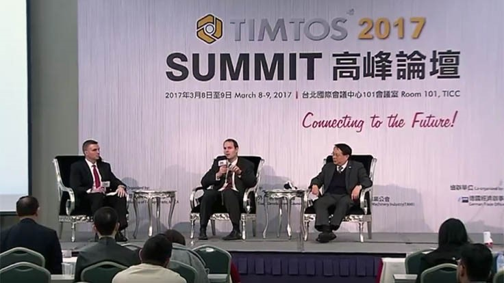 Aerospace supply chain panel discussion from TIMTOS 2017