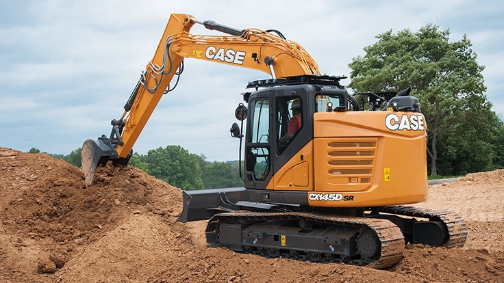 CASE adds new D Series excavator