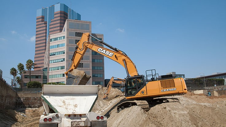 Case introduces new D Series excavators