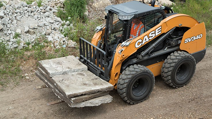 Case introduces vertical-lift skid steer
