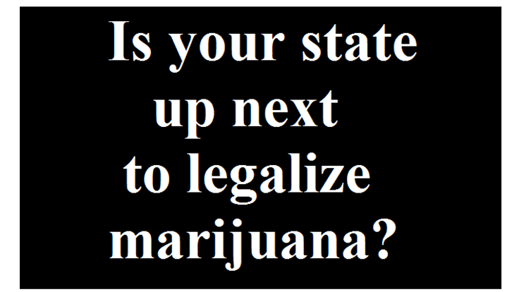Is Your State One of the Next 12 to Legalize Marijuana?